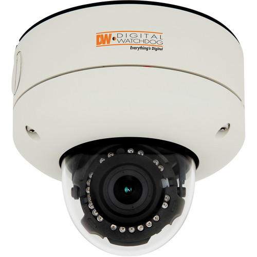 Digital Watchdog DWC-MV421TIR MEGApix SnapIt 2.1MP Outdoor Vandal Dome PoE IP Camera (White)