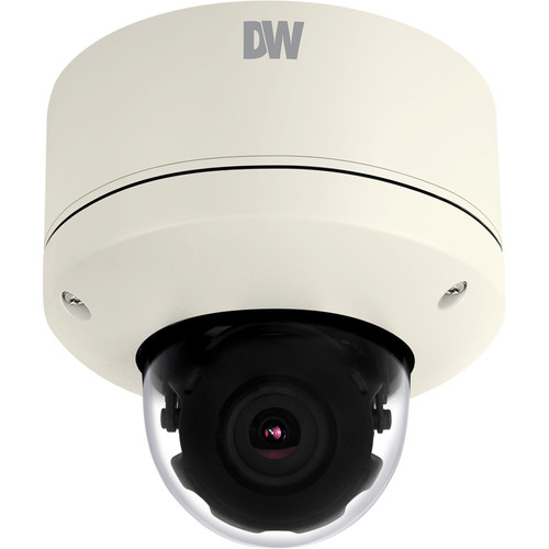Digital Watchdog MEGApix 4MP Snapit Outdoor Network Dome Camera (White)