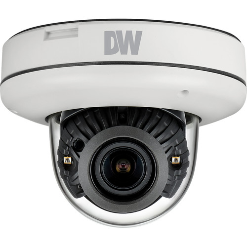 Digital Watchdog MEGApix 4MP Vandal-Resistant Outdoor Network Dome Camera with 2.8-12mm Lens & Night Vision