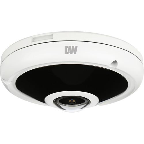 Digital Watchdog MEGApix CaaS DWC-PVF5M1TIRC1 5MP Outdoor Network Fisheye Dome Camera with 128GB Storage & Night Vision