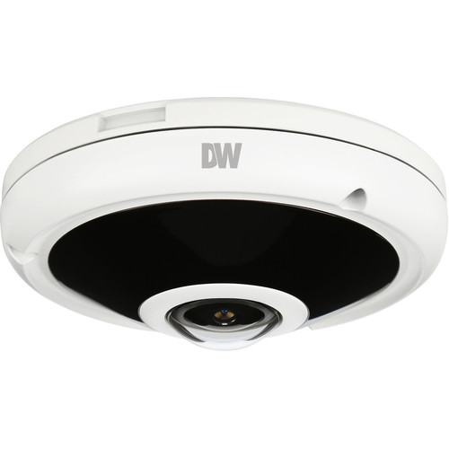Digital Watchdog MEGApix CaaS DWC-PVF5M1TIRC1 5MP Outdoor Network Fisheye Dome Camera with 128GB Storage & Night Vision