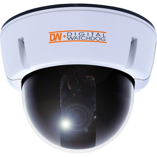 Digital Watchdog Star-Light Series DWC-V1312XW 2MP Vandal-Proof Dome Camera with 3.6 to 44.3mm Varifocal Lens (NTSC)