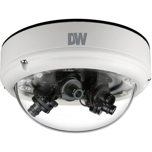 Digital Watchdog STAR-LIGHT FLEX 8MP Multi-Sensor AHD Outdoor Dome Camera (4 x 2.8mm Lenses)