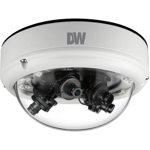 Digital Watchdog STAR-LIGHT FLEX 8MP Multi-Sensor AHD Outdoor Dome Camera (2 x 2.8 & 2 x 8mm Lenses)