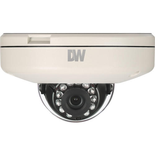 Digital Watchdog DWCA-VF25WIR4 MEGApix CaaS 2.1MP Day/Night Weatherproof Dome Camera with 4mm Fixed Lens (NTSC)