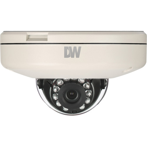 Digital Watchdog MEGApix CaaS 2.1MP Outdoor Network Dome Camera with Night Vision & 8.0mm lens