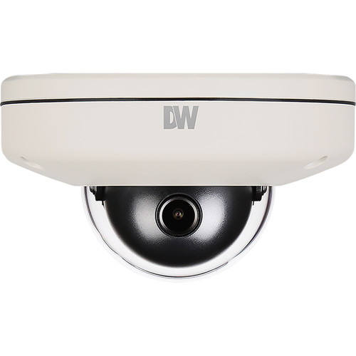 Digital Watchdog MEGApix CaaS Plus 3MP Outdoor Dome Camera with 2.8mm Fixed Lens and 64GB microSD Card