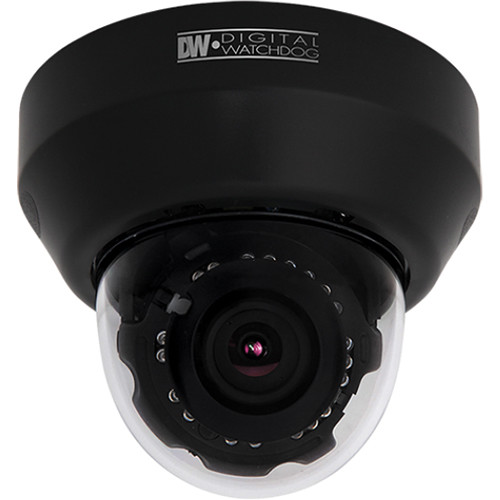 Digital Watchdog MEGApix Series DWC-MD421TIRB 2.1MP 1080p Day/Night IR Indoor Dome Camera with 3 to 10.5mm Auto Focus Lens (Black)