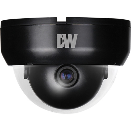 Digital Watchdog Value Line DWC-D6351DB Compact Indoor Dome Camera with 3.6mm Fixed Lens (NTSC, Charcoal black)