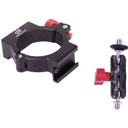 DigitalFoto Solution Limited Ant Smooth 4 Mounting  Adapter Ring Plus Bean Mini Magic Arm for Moutning Microphone/LED