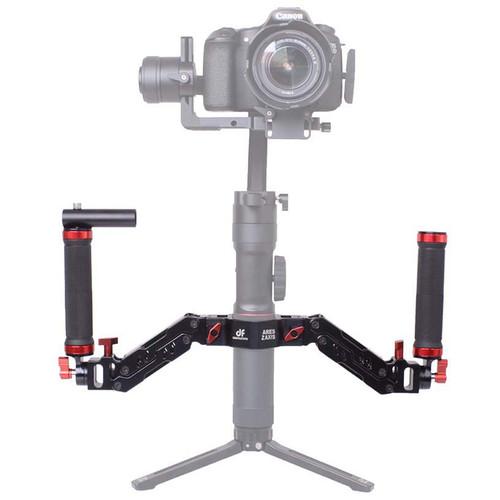 DigitalFoto Solution Limited Alloy Spring Dual Handle for Ronin S, Zhiyun Series & Feiyu Series