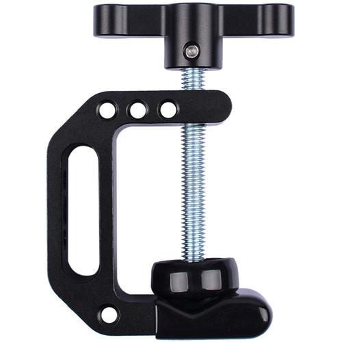 "DigitalFoto Solution Limited C-Clamp 3-42mm Jaws Super Clamp With 1/4""-20 For Attached Monitor,Smartphone,LEDd Light"