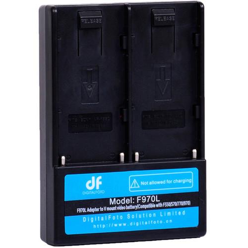 DigitalFoto Solution Limited L-Series to V-Mount Battery Adapter