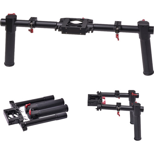DigitalFoto Solution Limited Dual-Grip Bracket Handle for Select Gimbal Stabilizers