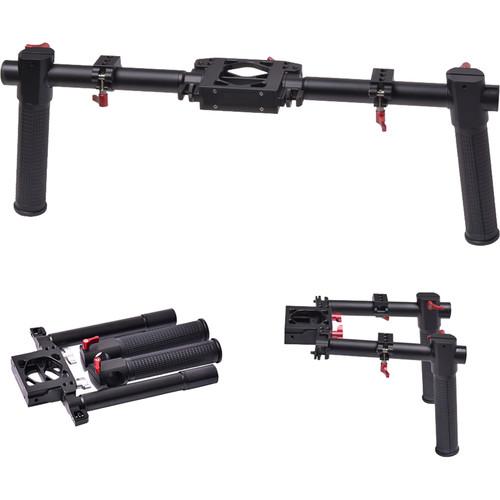DigitalFoto Solution Limited Dual Grip Bracket Handle for Select Gimbal Stabilizer