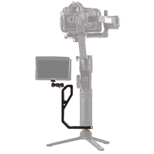DigitalFoto Solution Limited Universal L Bracket Handheld Gimbal Adapter With Mini Magic Arm