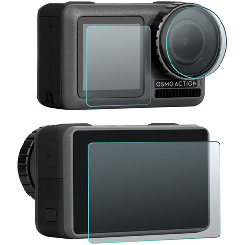 DigitalFoto Solution Limited Tempered Glass Film, Lens and Screen Combo for Osmo Action (Two Sets)