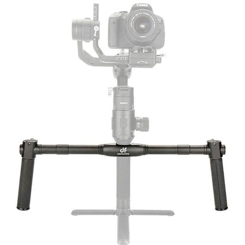 DigitalFoto Solution Limited Handlebar with Dual Grips for DJI Ronin-S/SC and Moza Air 2 Gimbals