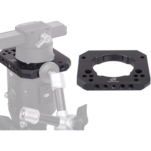 DigitalFoto Solution Limited Spider Gimbal Support Plate for DJI Ronin-S and Zhiyun Crane 2