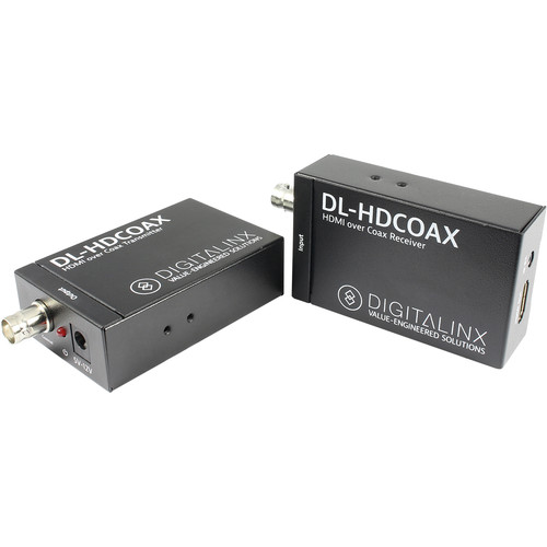 Digitalinx HDMI & IR Extender Kit over RG6/RG59 (328')