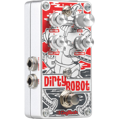 DigiTech Dirty Robot - Stereo Mini-Synth Pedal for Guitars and Basses