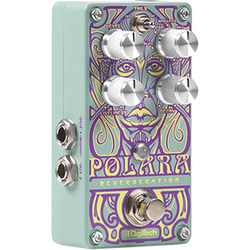 DigiTech Polara Reverb Pedal with 7 Lexicon Reverb Types