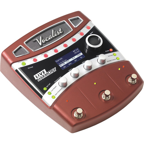 DigiTech Vocalist Live Harmony Vocal Effects Pedal for Guitarists