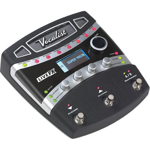 DigiTech Vocalist Live FX Foot-Pedal Vocal Processor
