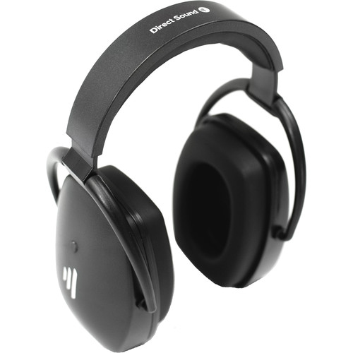 Direct Sound EXTW37 PRO Wireless Closed-Back Isolating Headphones with Mic (Black)