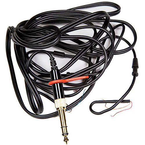 """Direct Sound Cable Assembly with 3.5mm Straight Plug & Screw-On 1/4"""" Adapter (108"""")"""