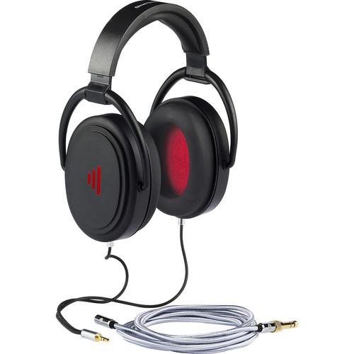 Direct Sound Studio Plus+ Closed-Back Studio Monitor Headphones (Jet Black)