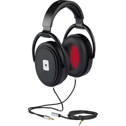 Direct Sound YourTones Plus+ Volume-Limiting Isolation Headphones (Jet Black)
