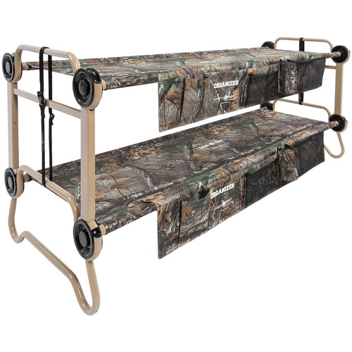 Disc-O-Bed Large Cam-O-Bunk Kit with Organizers (Realtree Xtra Canvas, Beige Frame)