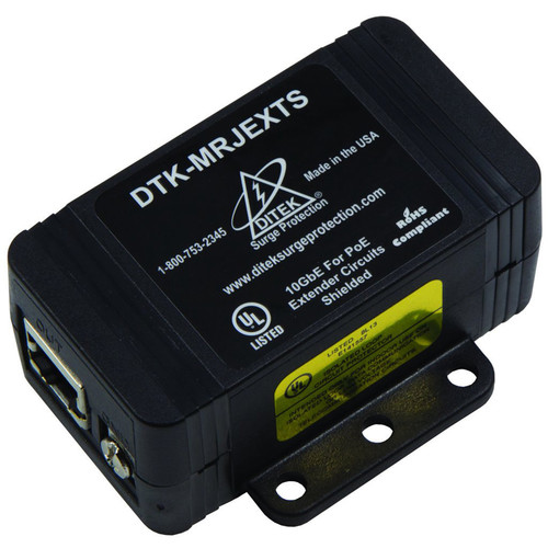 DITEK DTK-MRJEXTS Shielded Surge Protection for PoE Extender Circuits