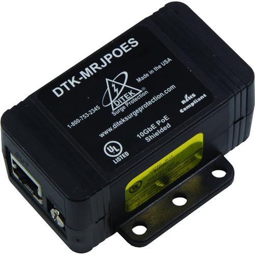 DITEK DTK-MRJPOES Shielded PoE Surge Protection