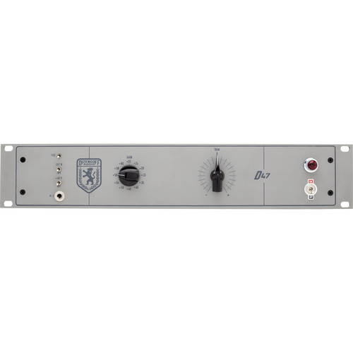 Dizengoff D4 Tube Preamp for Microphones and Instruments