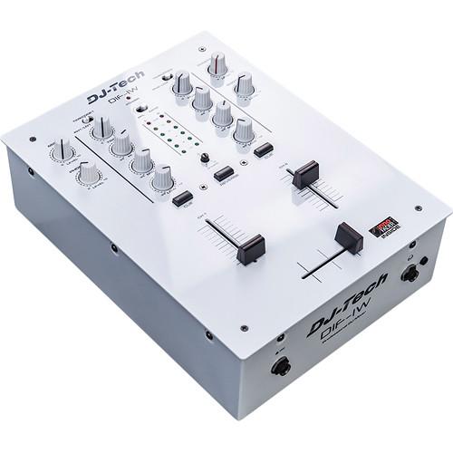 DJ-Tech DIF-1W 2-Channel DJ Mixer (White)