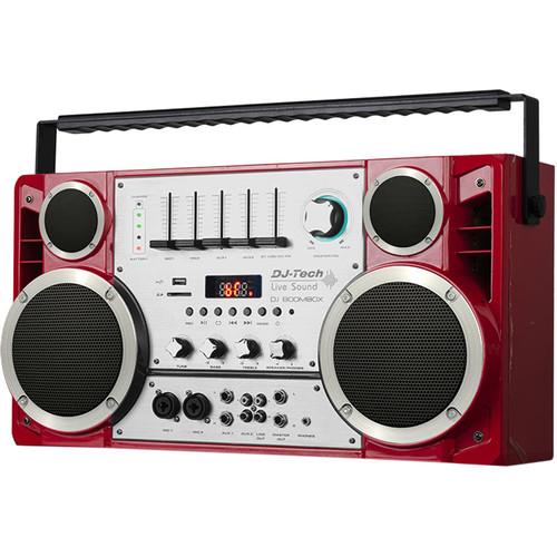 DJ-Tech DJ Boombox Wireless Portable Stereo
