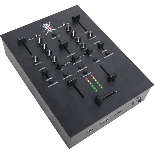 DJ-Tech TRX Thud Rumble 2-Channel Scratch Mixer (Black)