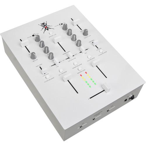 DJ-Tech TRX Thud Rumble 2-Channel Scratch Mixer (White)
