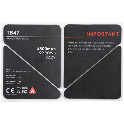 DJI Battery Insulation Sticker for TB47 Battery