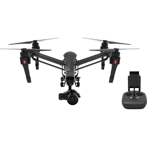 DJI Inspire 1 v2.0 PRO Black Edition Quadcopter with Zenmuse X5 4K Camera and 3-Axis Gimbal