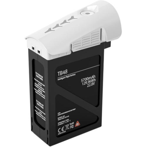 DJI TB48 Intelligent Flight Battery for Inspire 1 (129.96Wh, White)