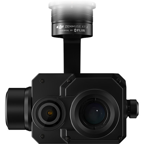 DJI Zenmuse XT2 Dual 4K/FLIR Drone Thermal Camera (9mm, 9 Hz, 336 x 256)