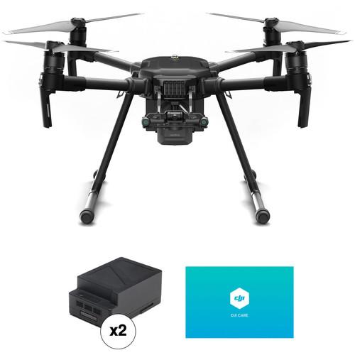 DJI Matrice 200 V2 Professional Quadcopter with TB55 Flight Battery Kit