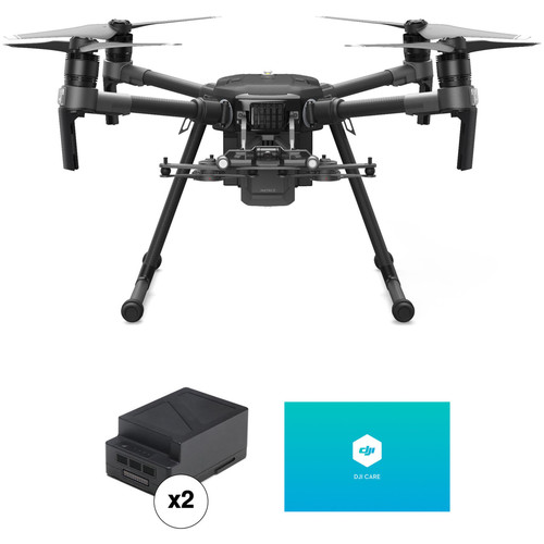 DJI Matrice 210 V2 Professional Quadcopter with Two Batteries & Enterprise Shield Basic Kit