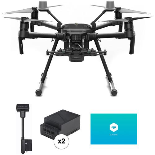 DJI Matrice 210 RTK V2 Pro Quadcopter with GNSS Mobile Station & Battery Kit