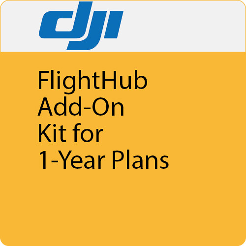 DJI FlightHub Add-On Kit for 1-Year Plans