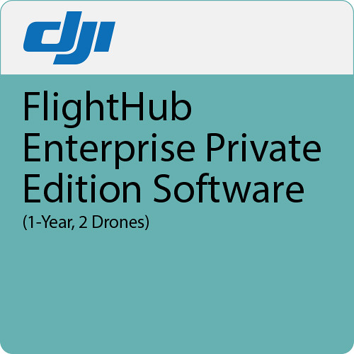 DJI FlightHub Enterprise Private Edition Software (1-Year, 2 Drones)