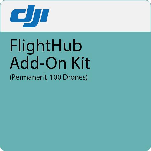 DJI FlightHub Add-On Kit (Permanent, 100 Drones)